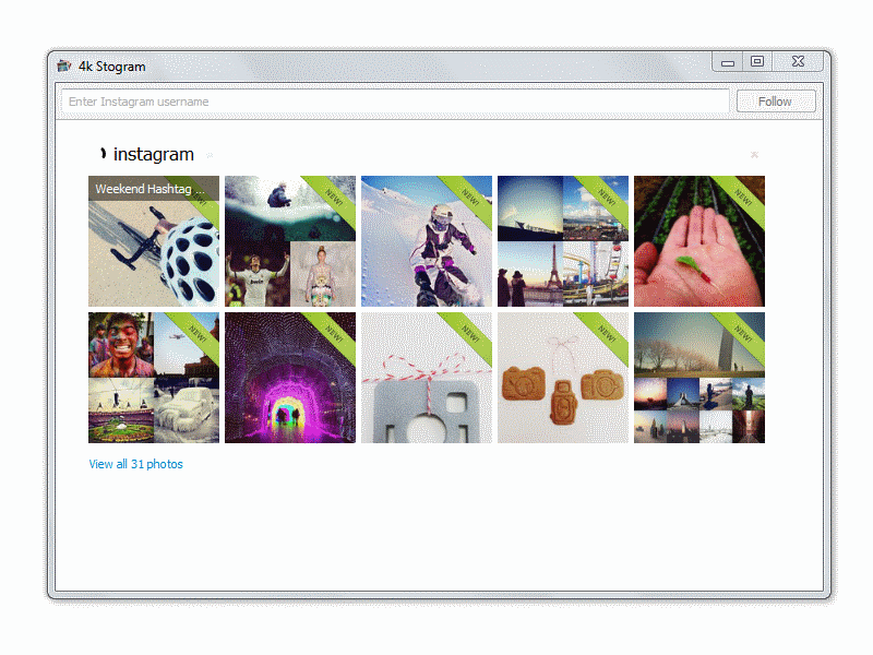 Download Instagram photos on Mac.